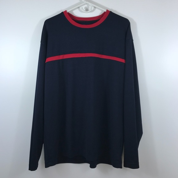 18689493b Tommy Hilfiger Shirts | Tommy Jeans Hilfiger Vintage Crew Ls ...